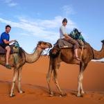 Camel Trek, Merzouga, Sahara Desert, Morocco
