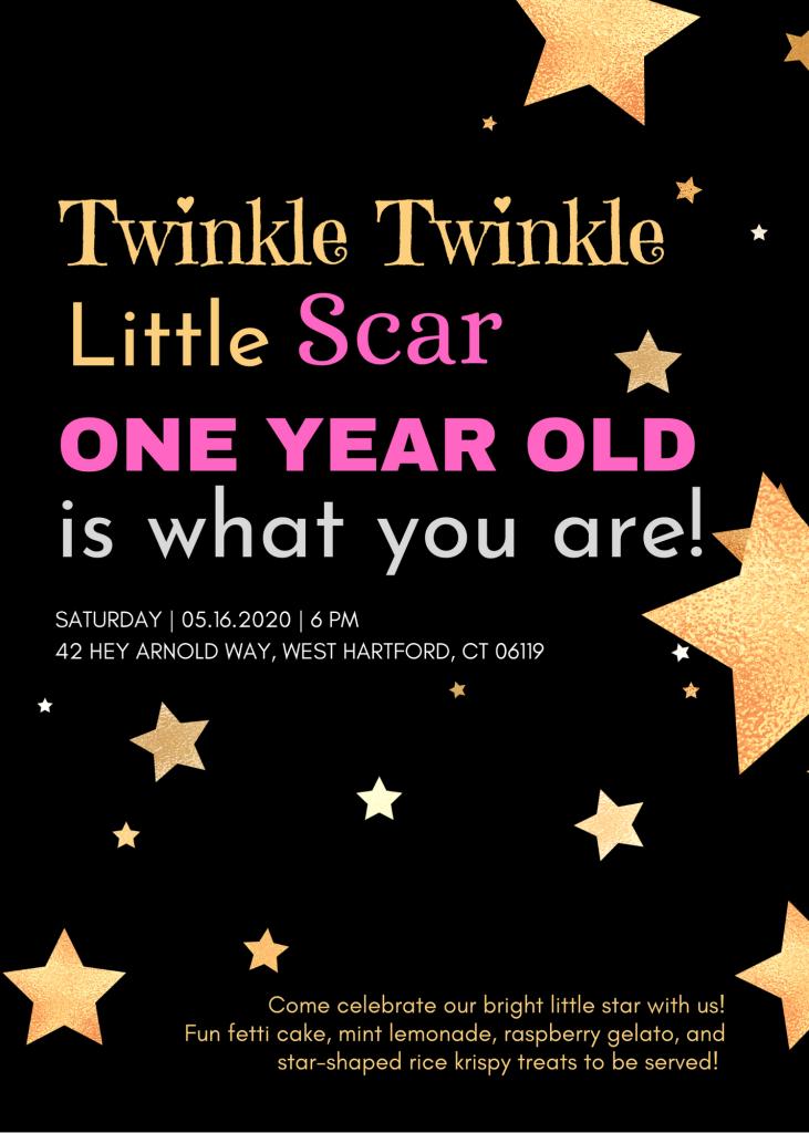 Twinkle Twinkle little Scar